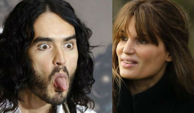 Russell Brand reunites with Jemima Khan