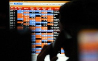 Sensex trades flat during early session