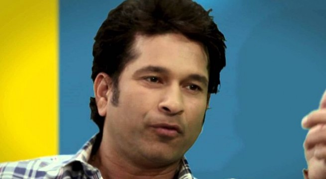 Emotional Sachin leaves film, TV celebs in tears