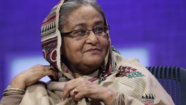 Hasina asks Zia to come down to streets