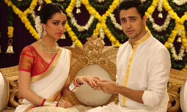 Shraddha's look in 'Gori Tere...' revealed