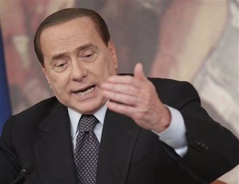 Berlusconi's girlfriend appeals to Pope Francis to salvage his name