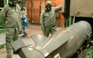 Britain to help with Syrian chemical weapons' destruction