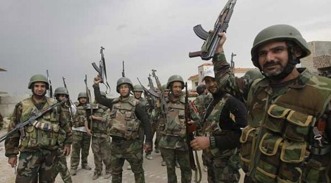 Syrian troops regain town from rebels