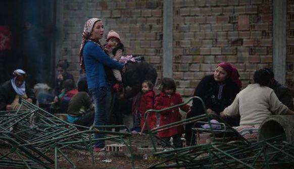 Syrians fleeing war face hardship in Balkans