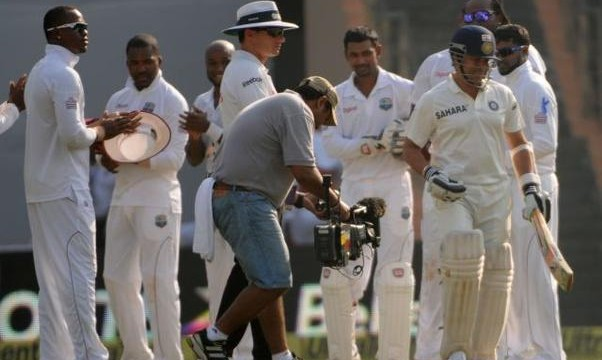Tendulkar fluent in farewell international game