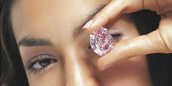 The Pink Star` diamond auctioned for record $83 m at Sotheby's