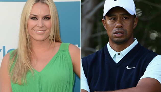 Woods' gal Lindsey Vonn calls `recent skiing injury` only `temporary setback`