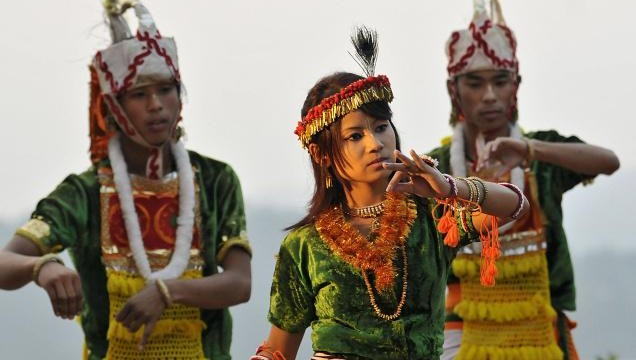 Traditional festivals bring together people of the Northeast