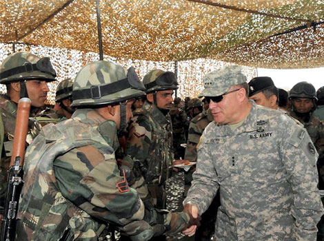 US seeks strong military-to-military ties with India