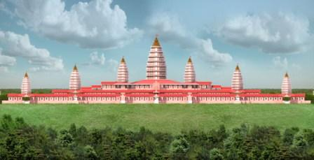 Model of world's largest Hindu temple unveiled in Bihar