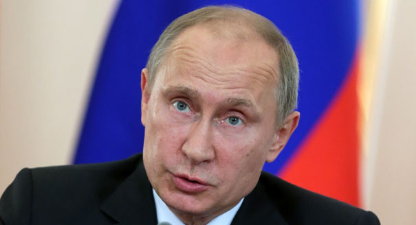 End 'sharp words' over Ukraine, Putin tells EU leaders