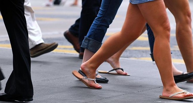 How your walking style could keep you away from trouble