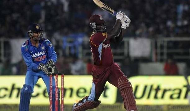 West Indies score 263/5 against IndiaWest Indies score 263/5 against India