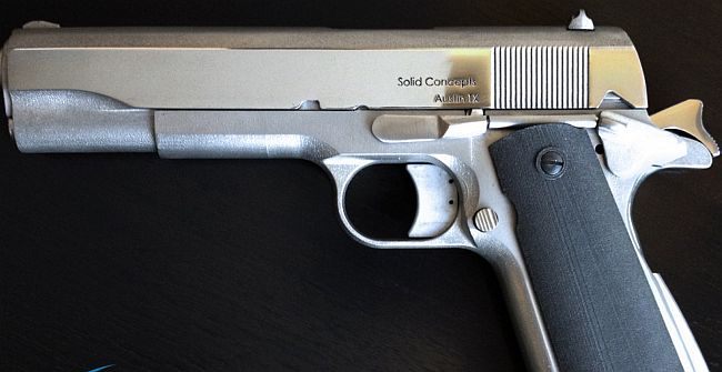 World's first 3D printed metal gun revealed!