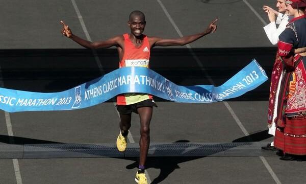 Kenyan Kipkogei wins 31st Athens Classic Marathon