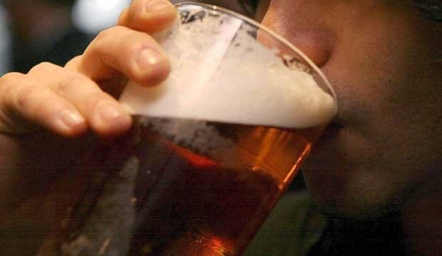 Beer saves man's life!