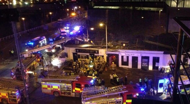 Numerous' casualties in Glasgow pub copter crash