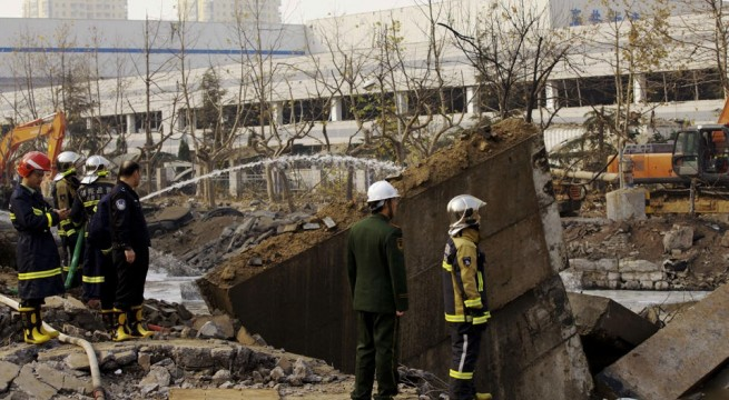 9 detained after oil pipeline blasts in China