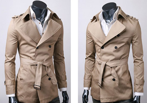 smart trench coat` that tells you when it will rain!