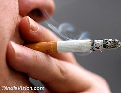 Pro-smoking media messages up risk of smoking among college students