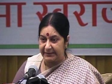 Sushma Swaraj insists Congress backing Tejpal