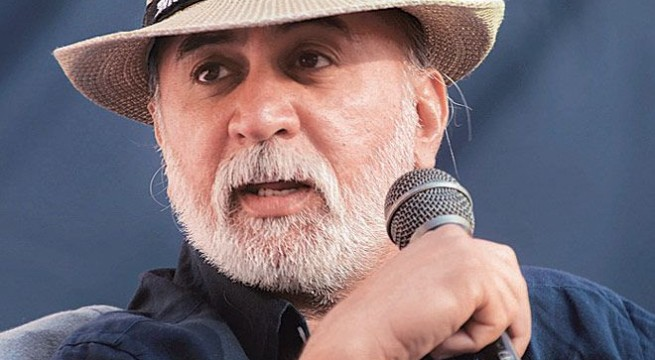 'CCTV grab shows Tejpal entering lift with woman journalist'
