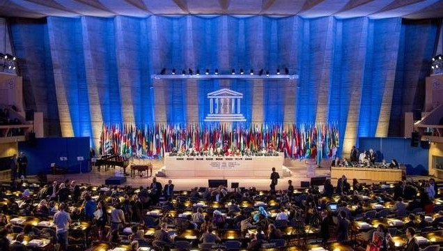 The United States loses its UNESCO voting right