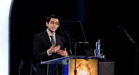 18-year-old Indian-American teenager Saumil Bandyopadhyay at MIT wins Ingenuity award