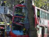 32 injured as double decker hits tree in London
