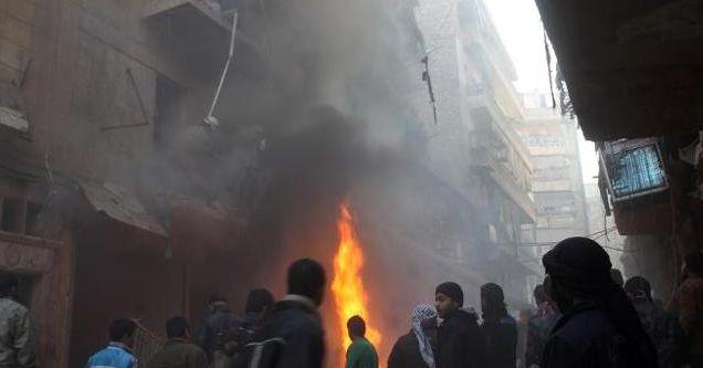 36 killed in air strike in Syria
