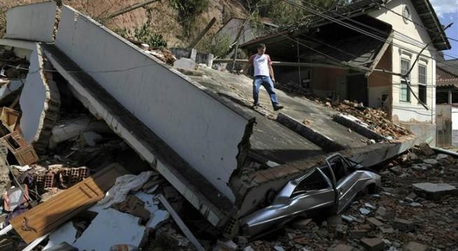 45 Dead in Brazil floods