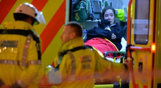 76 injured as London theatre's ceiling collapses