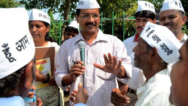 AAP celebrates in Delhi
