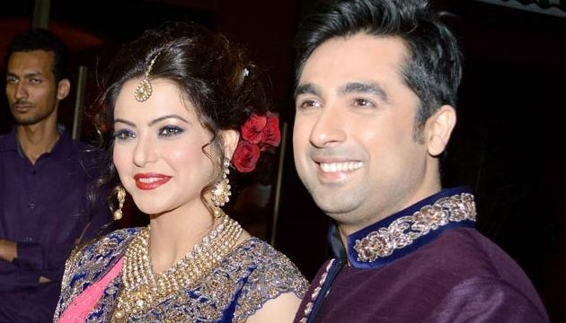 Friends from B-Town attend Aamna Sharif's reception
