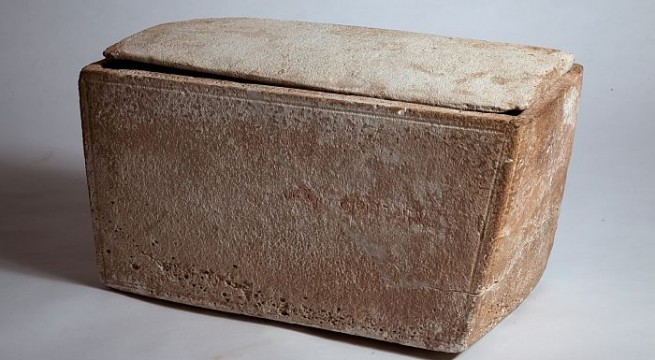Ancient burial box contains earliest reference to Jesus