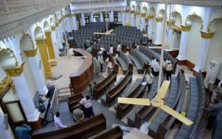 Andhra assembly rocked again over Telangana bill