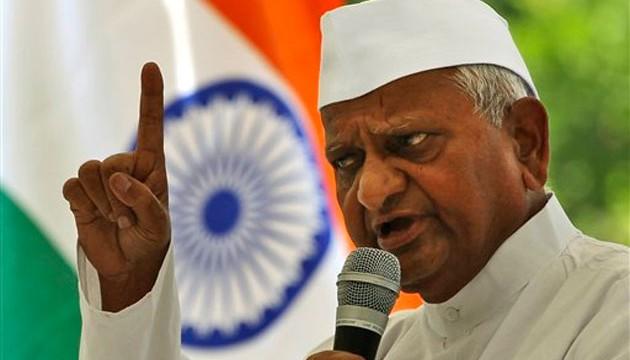 Anna Hazare to go on indefinite hunger strike from Dec 10 at his village Ralegan Siddhi