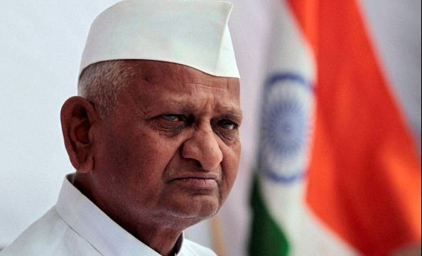 Anna Hazare's indefinite fast for Jan Lokpal Bill enters second dayAnna Hazare's indefinite fast for Jan Lokpal Bill enters second day