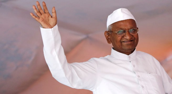Hazare 'extremely weak' on 10th day of hunger strike