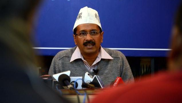 Mr. Arvind Kejriwal's speech displays the vocabulary that brought AAP to power
