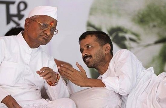 "I Am with Anna Hazare's ""best wishes"": Kejriwal"