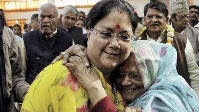 BJP celebrates in Rajasthan