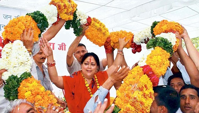 BJP heads for big win in Rajasthan