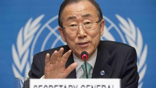 UN secretary general receives Syria report