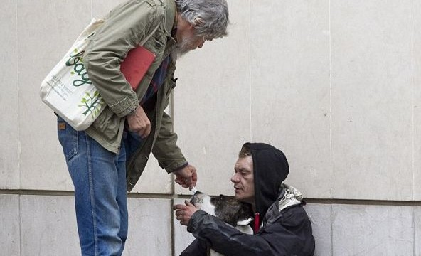 Beggars have easy living in Europe with 50,000 pounds p.a