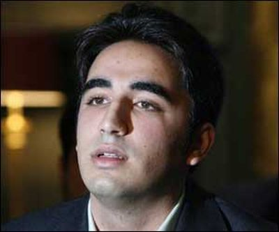 Benazir Bhutto's son declares war against Taliban at start of political career