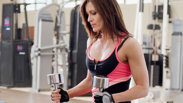 Burn body fat with cardio, weight training