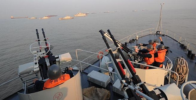 China adds destroyer to its East China Sea fleet