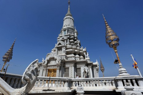 Cambodian monks call for action against Buddha's relics theft
